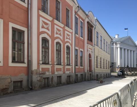 Ülikooli tänava remont