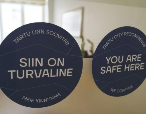 consumer label 'You Are Safe Here'
