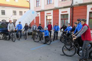Enne starti Euroopa Spordinädala avamisele Tähtveres.