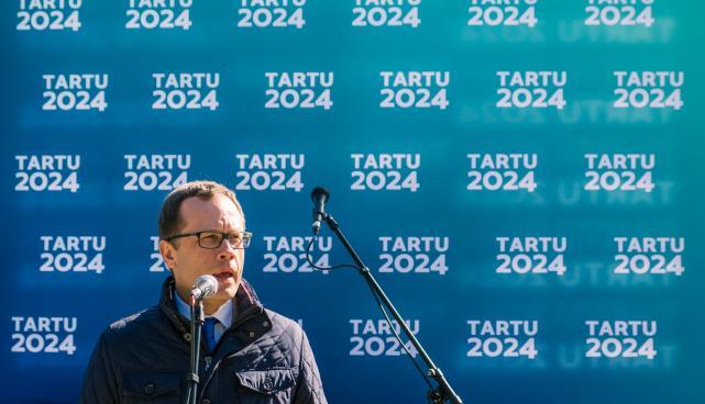 Tartu linnapea ja SA Tartu 2024 nõukogu esimees Urmas Klaas