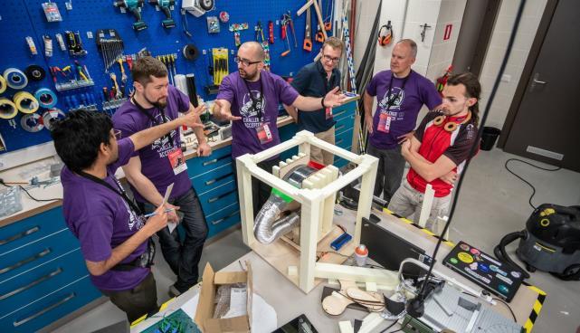 Garage48 SpaceTech Riga Challenge 2018.aasta mais