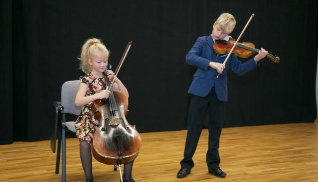 Viiuldajad