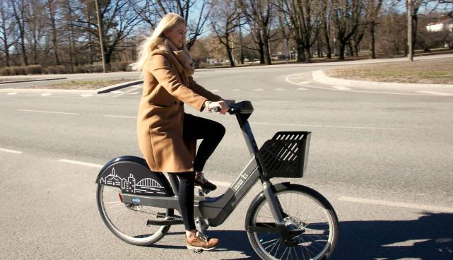 проката велосипедов