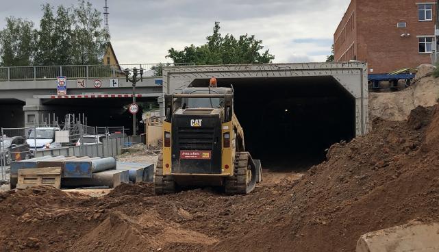 Riia-Vaksali tunneli ehitus