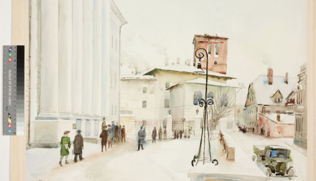 Tartmus opens an exhibition of views of Tartu in Estonian art
