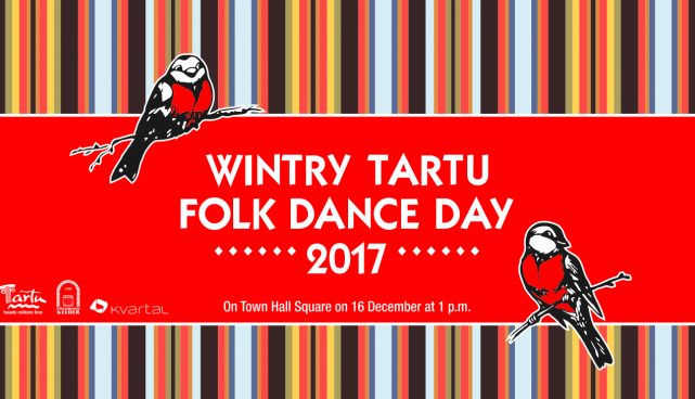 Wintry Tartu Folk Dance Day 2017