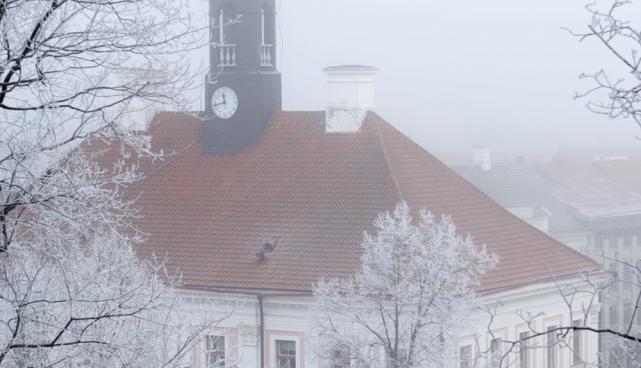 Raekoda talvel