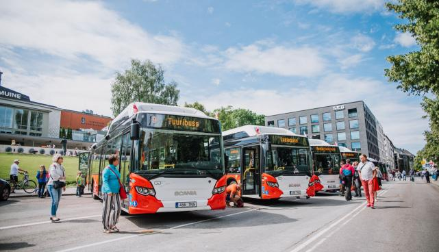 Uued linnaliinibussid