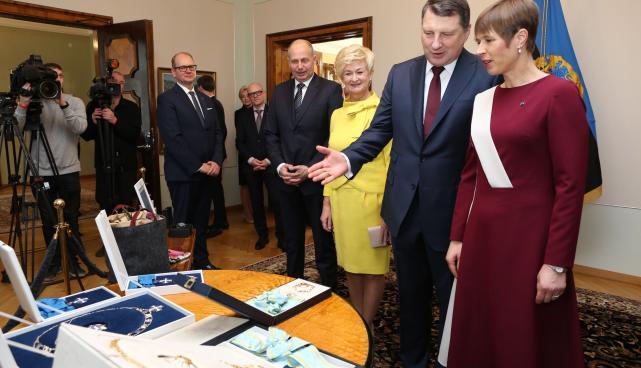 Läti Vabariigi president Raimonds Vējonis riigivisiidil