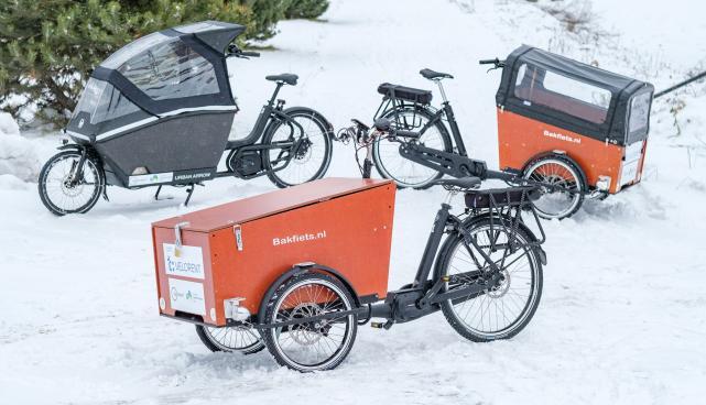 В день демонстрации Тартуского велопроката Velorent можно будет ознакомиться с грузовыми велосипедами