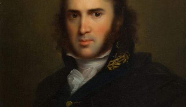 Franz Gerhard von Kügelgen. Karl Morgernstern. Oil painting, 1809.