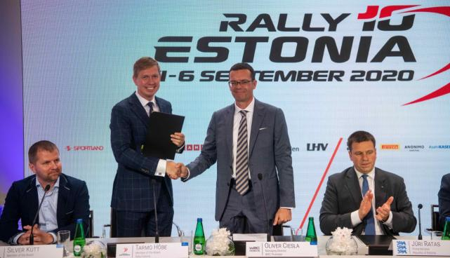 WRC autoralli maailmameistrivõistlused toimuvad Eestis