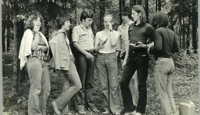 erafotol grupp üliõpilasi