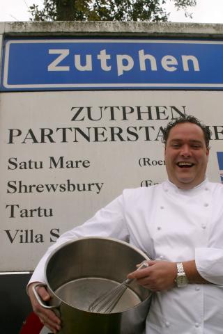 Zutpheni kokk Chiel Dohmen