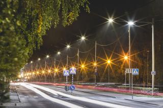 Тарту уделяет много внимания потребностям модернизации уличного освещения.