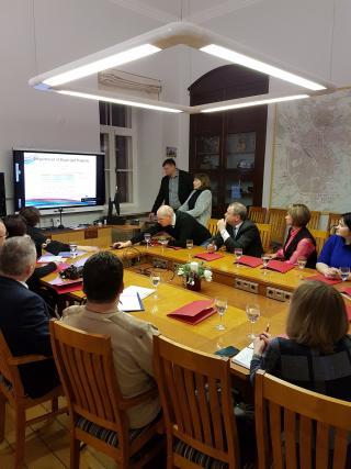 Külalised Valgevene kohalikest omavalitsustest