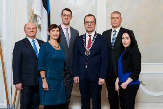 Linnavalitsuse liikmed 2018. aasta aprillis