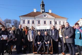 Mecklenburg-Vorpommerni liidumaa delegatsioon.