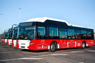 Tartu uued bussid. Foto: Joonas Sisask