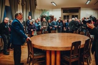 """Näituse """"Tartu rahu sünd"""" avamine 29. jaanuaril, foto: Ruudu Rahumaru"""