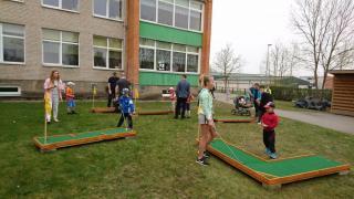 """Lasteaed Ristikheina projekt """"Õuesport teeb lapsed õnnelikuks"""""""