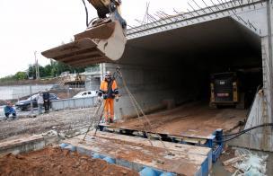 Construction of the Riia-Vaksali intersection
