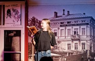 Kelli Kiipus Eesti luuleprõmmu finaalis