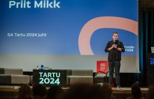 SA Tartu 2024 juhatuse liige Priit Mikk