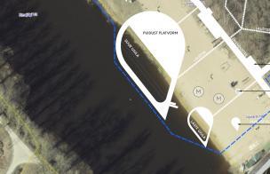 concept of a public swimming spot
