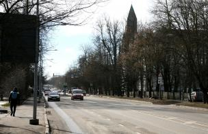 На улицах Тарту началась весенняя уборка