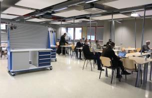 õpetajate väljaõppe veebitund Tartu Kutsehariduskeskuses