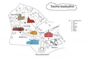 Teaduslinna kaart
