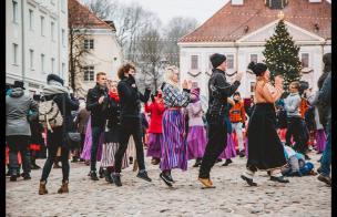 Embedded thumbnail for Тартуский Зимний День Танца 2019